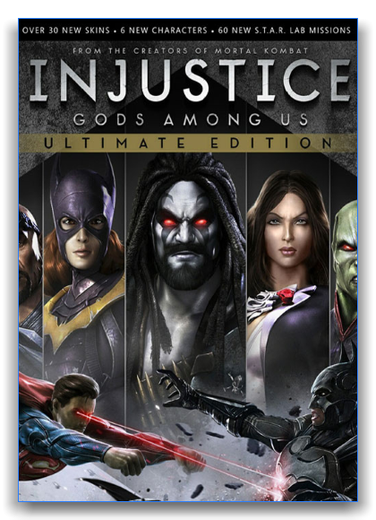 Injustice: Gods Among Us Ultimate Edition  [Update 5] (Multi/RUS)[RePack] by xatab